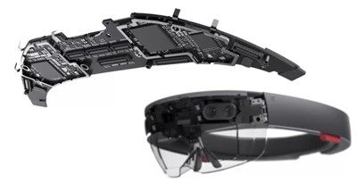 The motherboard for Microsoft HoloLens