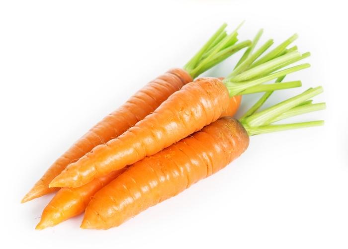 Manger des carottes pour être de bonne humeur