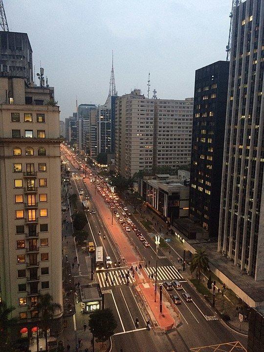 Avenida Paulista - השדרה המפורסמת ביותר בסאו פאולו