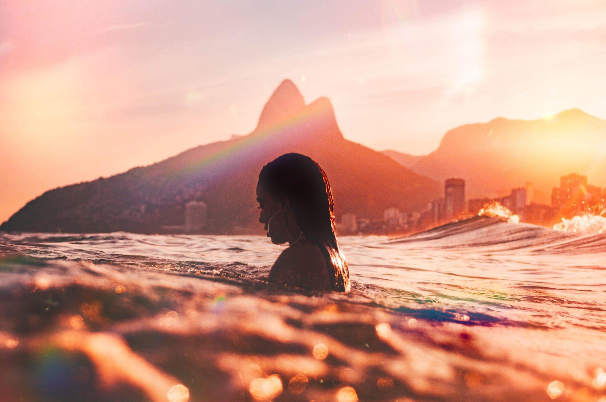 מומלץ! לרחוץ במים הקרירים בחופי ריו דה ז'נרו