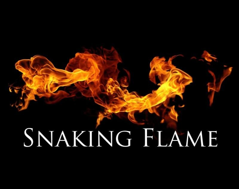 Snaking Flame