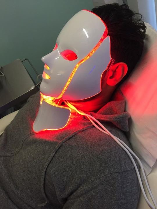 LED Mask £25 course of ten £225