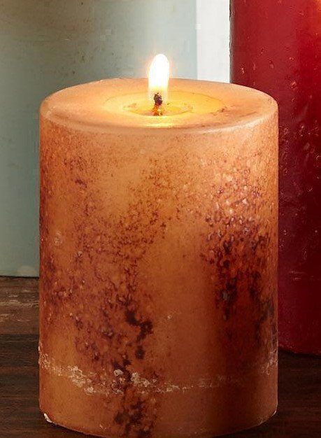 Quick and Easy Pillar Candle
