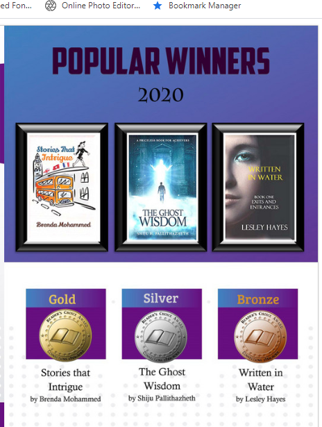 Popular Winners in Readers Choice Awards 2020
