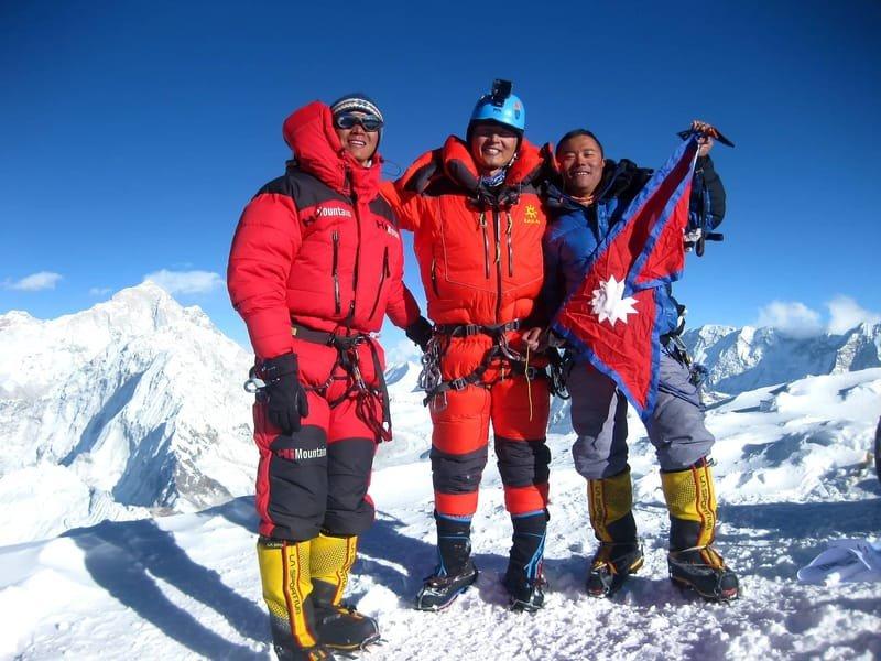 AMA DABLAM 6812+ ISLAND PEAK 6189 INTERNATIONAL EXPEDITION 2020, NEPAL, HIMALAYA