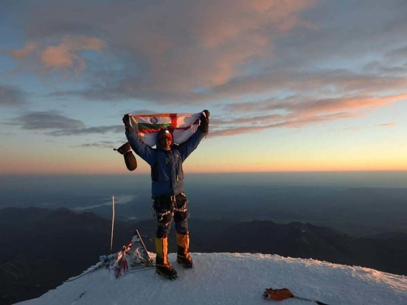 Breeze Sharma, India: Elbrus 5642- 2019 with Makalu Extreme