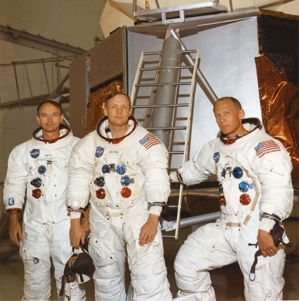 8X10 NASA PHOTO EP-509 NEIL ARMSTRONG APOLLO 11 ASTRONAUT FIRST WALK ON MOON