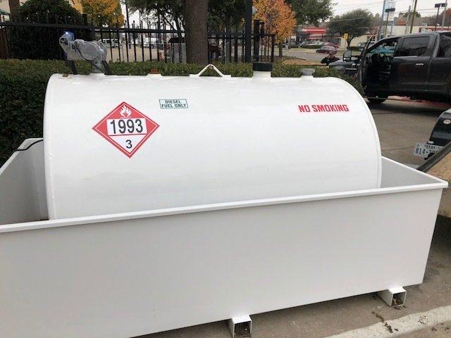 550 Gallon Fuel Storage Tanks