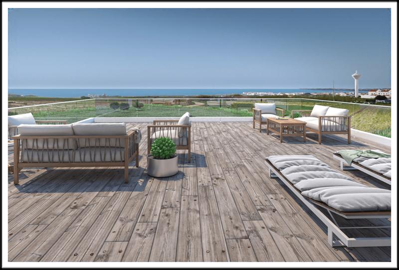 Villa de 4 chambres près de Peniche : vue sur mer panoramique, près des golfs