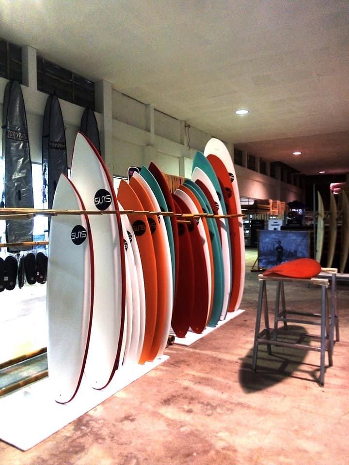 SUNS brand  - SURFBOARDS &  S.U.P.