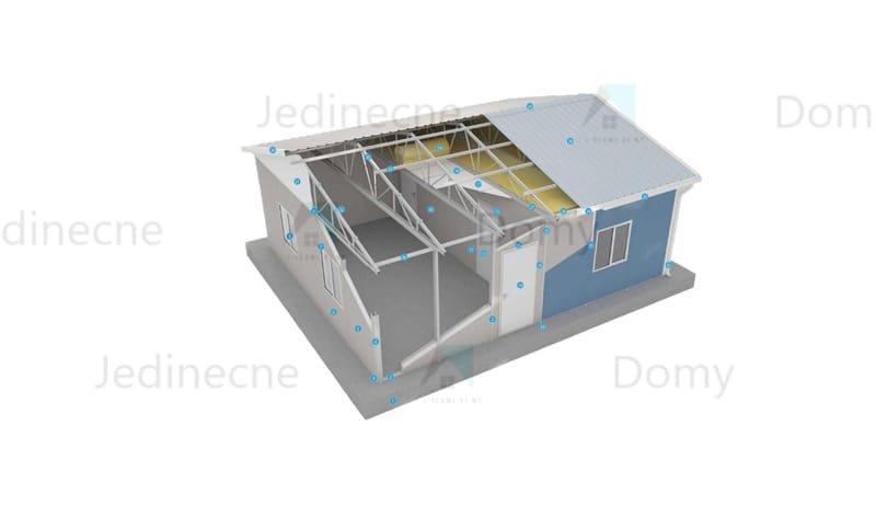 Prefabrikovaná stavební sekce