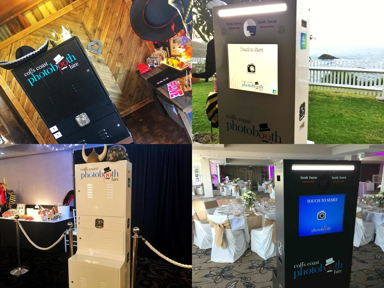 examples of open air photobooths