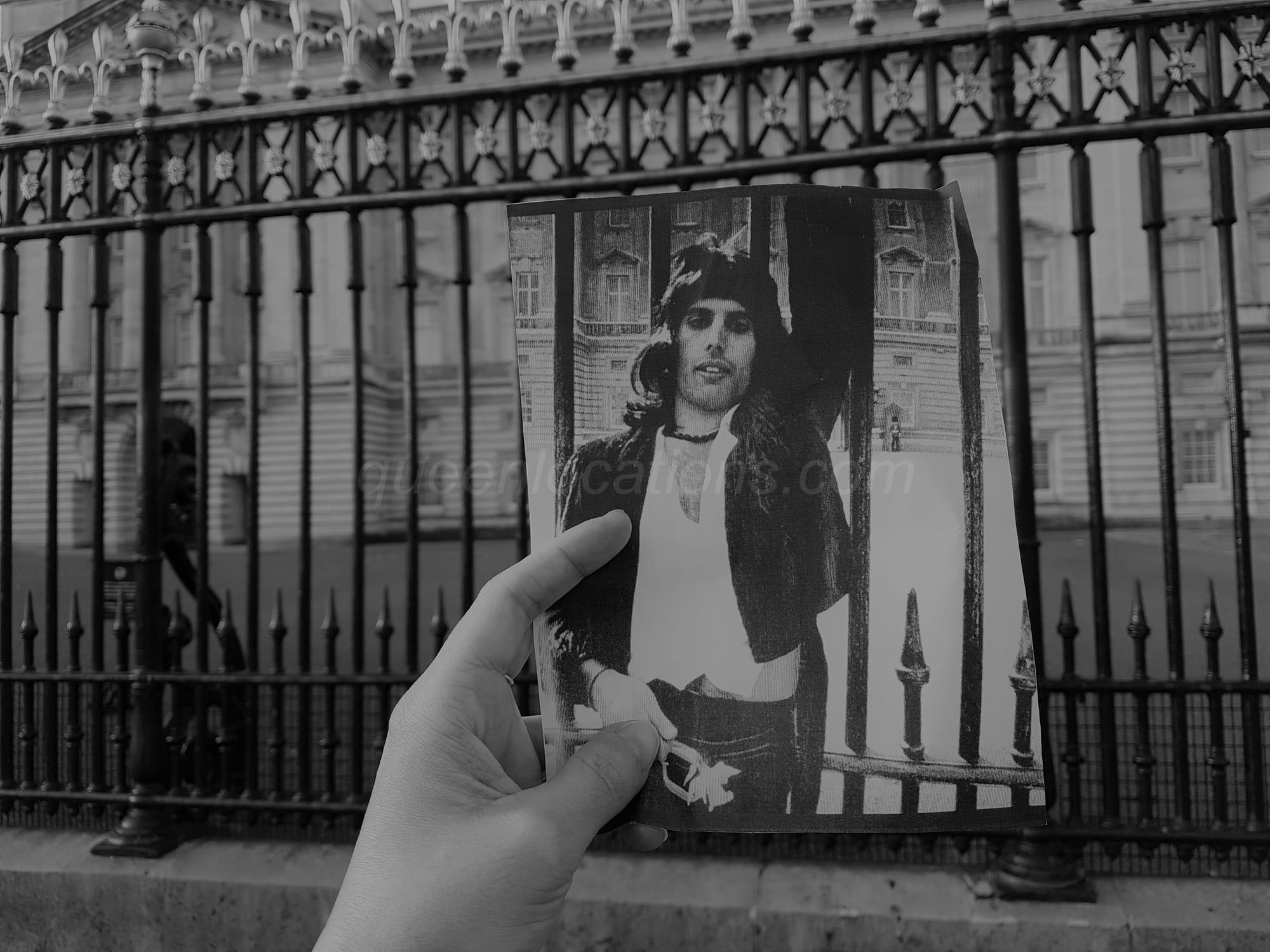 Buckingham Palace Freddie Mercury