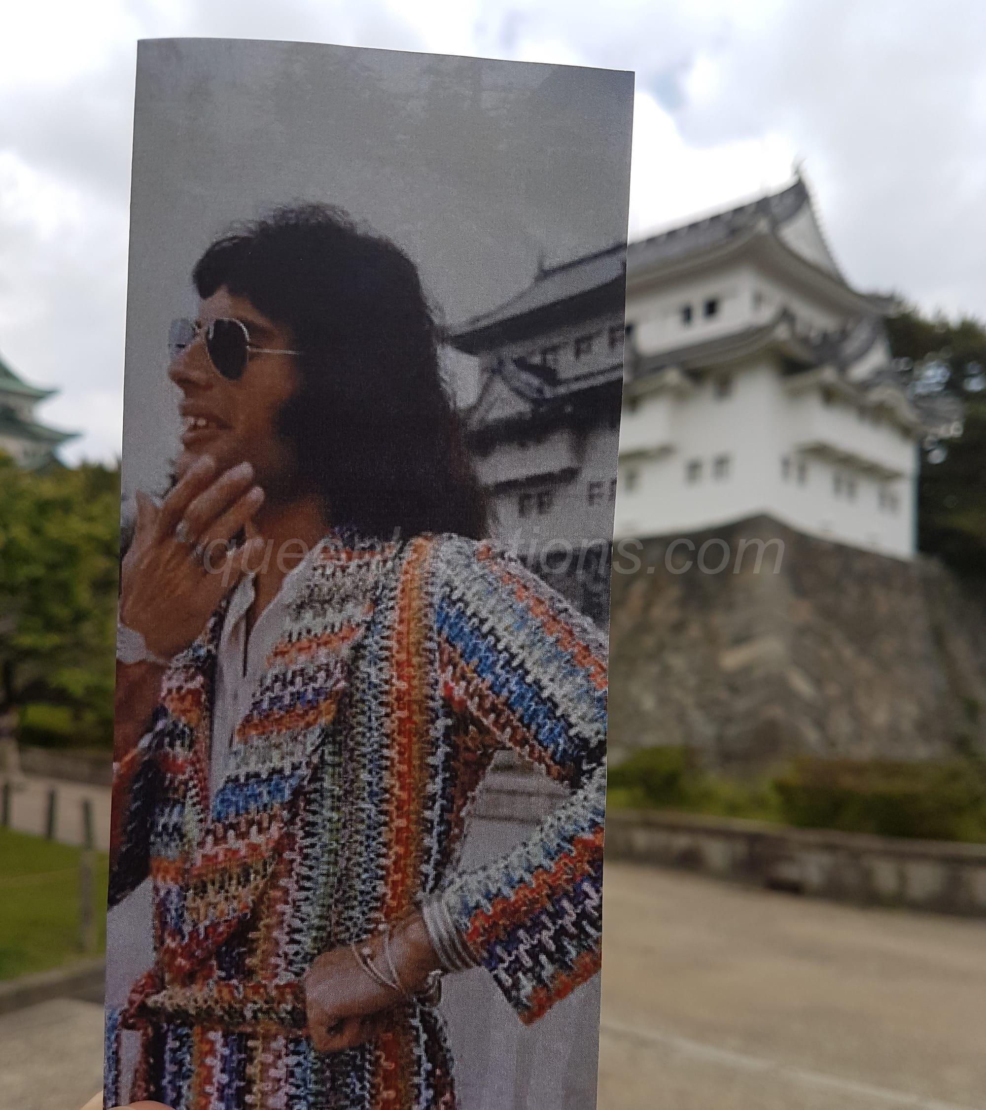 Nagoya Castle Freddie Mercury