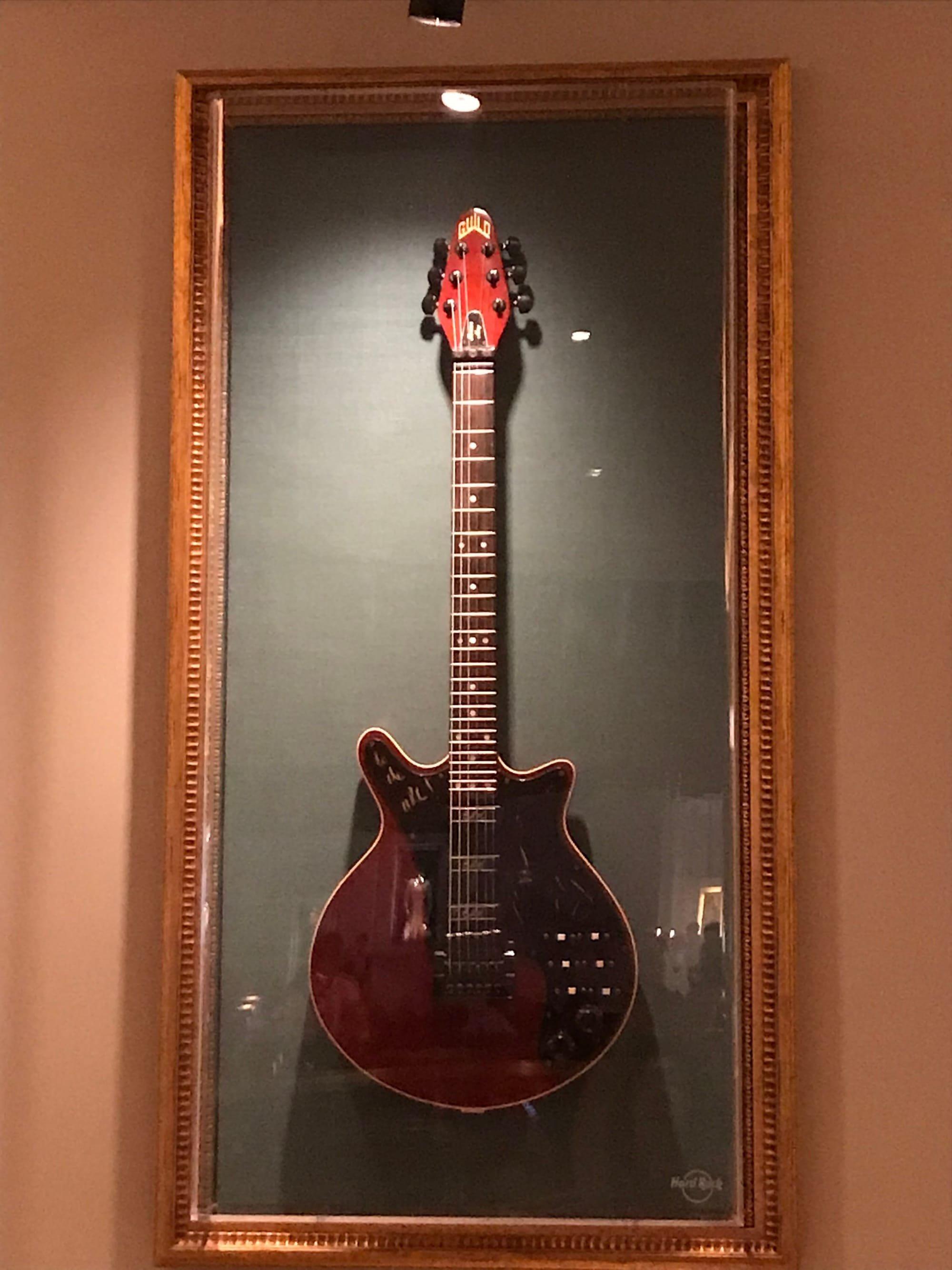 Hard Rock Hotel London Brian May