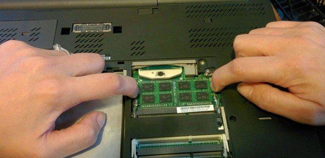 Αναβάθμιση μνήμης σε laptop (RAM) 12€