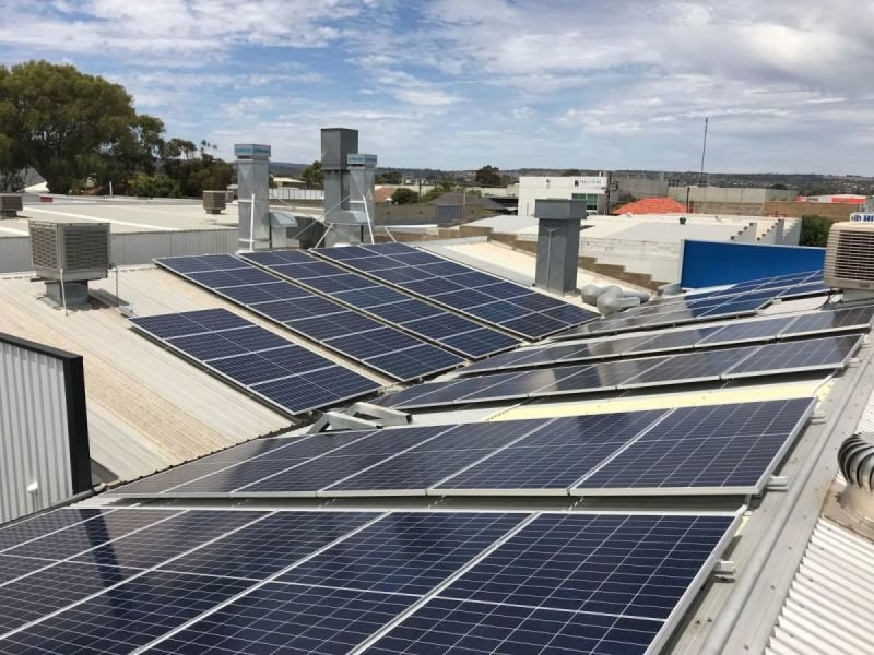 60kW Commercial Solar System