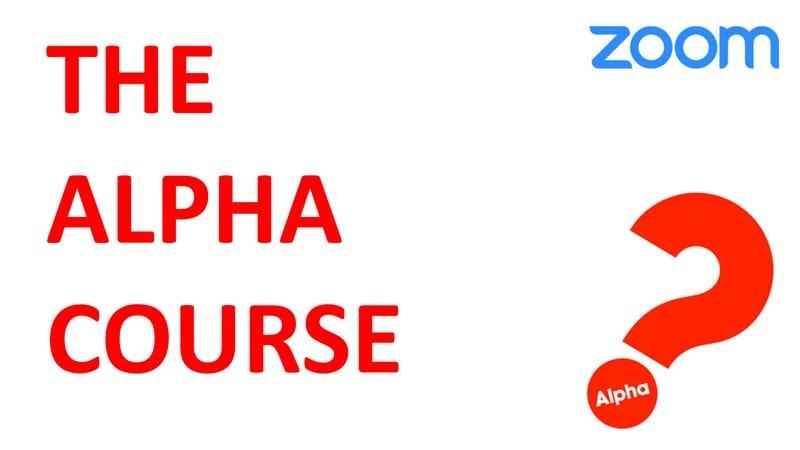 4/19 (月)(19:30) Alpha Course (on Zoom)