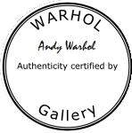 Warhol Gallery stamp
