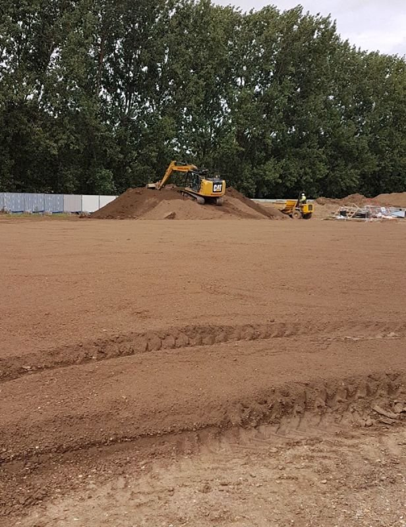 Site Clearance & Bulk Excavation