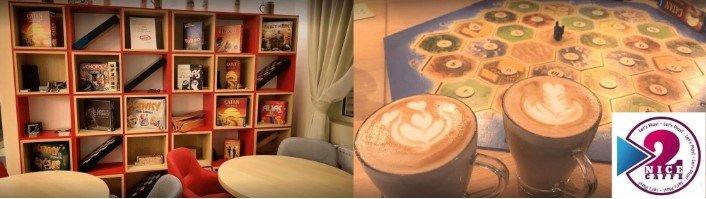 2 Nice Caffe Board Game si Narghilea