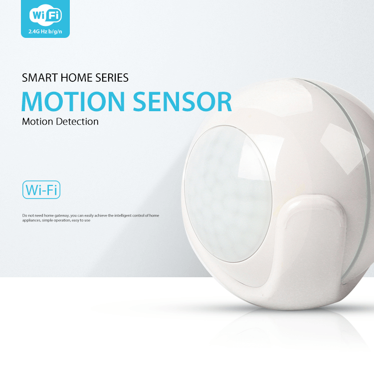 Smart Home Tuya App Wireless PIR Motion Sensor WiFi Smart Detector Alarm