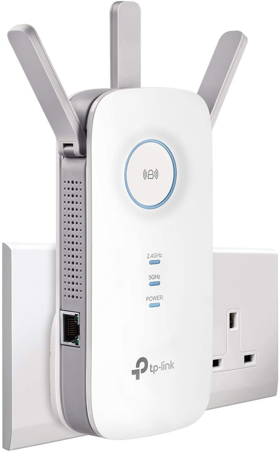 TP link white WiFi booster