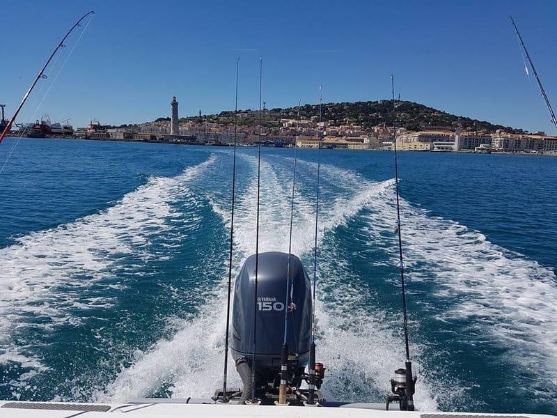 Besoin de privatiser le Bateau Sète Fishing entre Amis et famille !