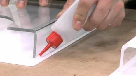 Acrylic Gluing and Bonding