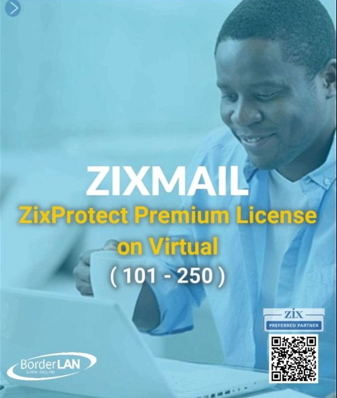 Standalone ZixMail License (25 – 100)