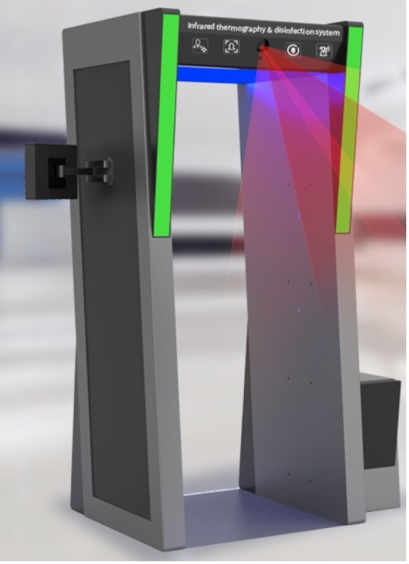 RGMIRD20 Infrared Thermography & Disinfection System