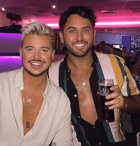 Ryan Ruckledge and Hughie Maughan