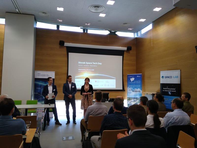 SARIO na Slovak Space Tech Day