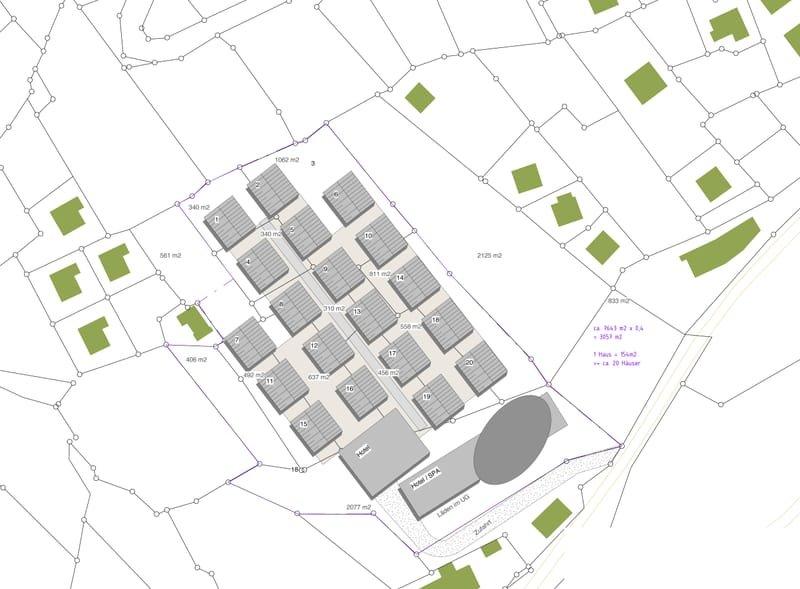 Hotel und Apartment Projekt in der Schweizer Alpen