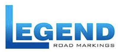 LEGEND ROAD MARKINGS