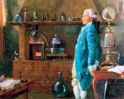 من هو أنطوان لافوازييه Antoine Lavoisier Jonon