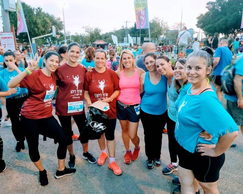 """קבוצת ריצה """"מזנקות להצלחה"""""""
