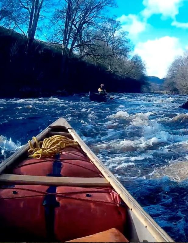 British Canoeing - Canoe Leader Training with Lizzie and Lina - Lake District / Northern Dales