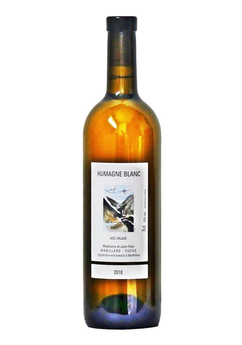 Humagne Blanc du Valais Cave Mabillard-Fuchs
