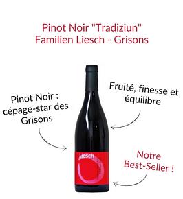 Pinot Noir Tradiziun des grisons weine familien liesch malans