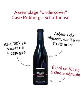 Undercover de Schaffhouse cave rotiberg kellerei assemblage rouge