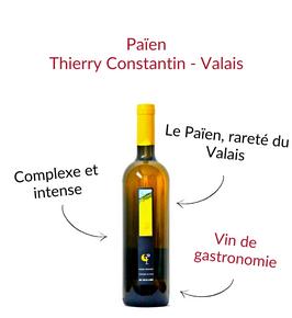 Païen du Valais Thierry Constantin heida savagnin