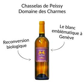 Chasselas de Peissy Geneve domaine des charmes