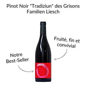 Pinot Noir Tradiziun des Grisons Familien Liesch Malans