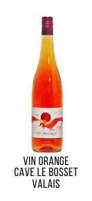vin orange pinot gris cave le bosset leytron valais