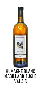 Humagne Blanc du Valais Cave mabillard Fuchs