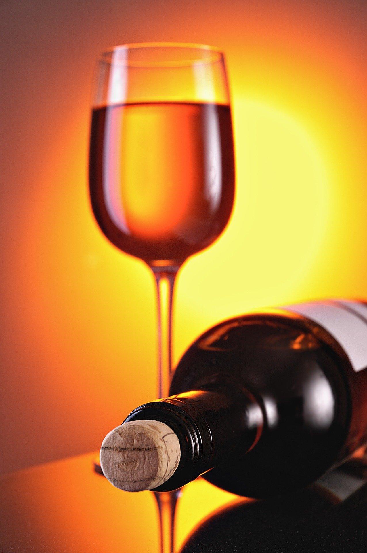 bouteille vin blanc sucré
