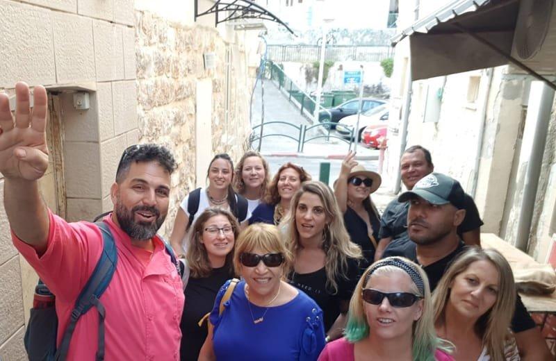 סיור בואדי ניסנאס בחיפה