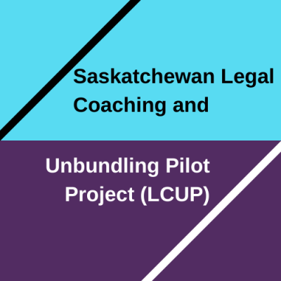 Sask. Legal Coaching and Unbundling Pilot Project