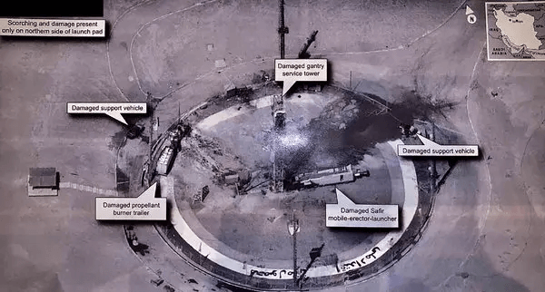 President Trump appears to have taken the highly unusual step of releasing an official and relatively high resolution annotated U.S. intelligence image.